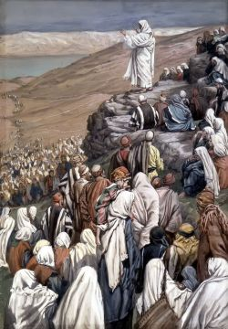 Beatitudes - painting by Tissot